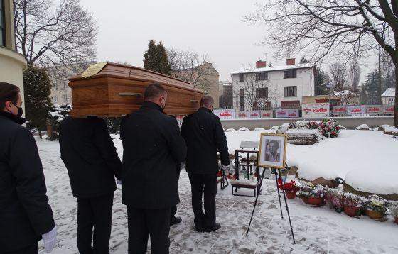 Pogrzeb Waldemara Chrostowskiego