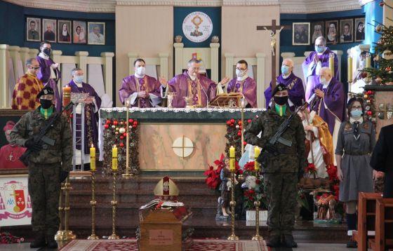 Msza św. pogrzebowa śp. bp. Adama Dyczkowskiego