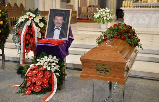 Łódź: Uroczystości pogrzebowe Krzysztofa Krawczyka