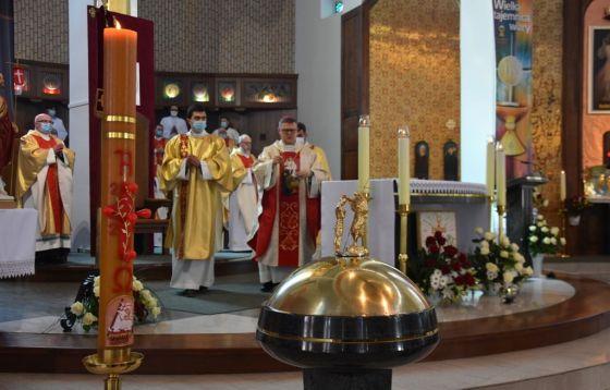 Bp Wiesław Śmigiel przewodniczył centralnym obchodom ku czci Bożego Miłosierdzia