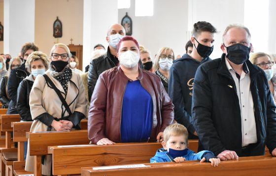 Dzień skupienia i bierzmowanie w parafii św. Stanisława BM w Częstochowie