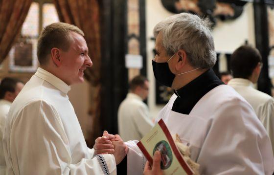 Święcenia diakonatu w katedrze wawelskiej 2021