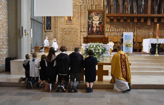 Pożegnanie obrazu Świętej Rodziny u Michalitów