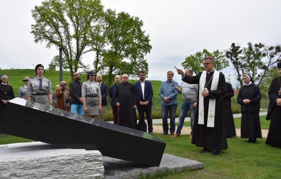 Odsłonięcie pomnika w Parku Pamięci Ofiar Zbrodni Pomorskiej 1939