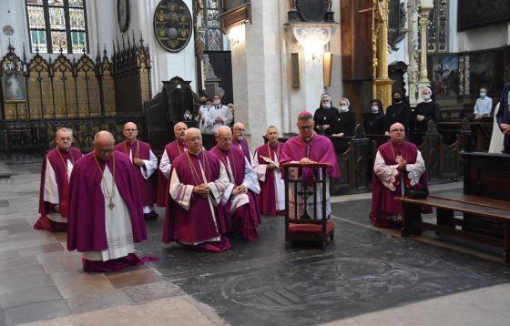 Odpust w toruńskiej katedrze Świętych Janów