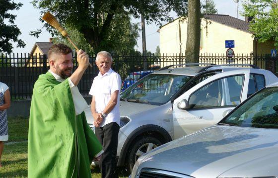 Tomaszów Mazowiecki: Poświęcenie pojazdów w dniu świętego Krzysztofa