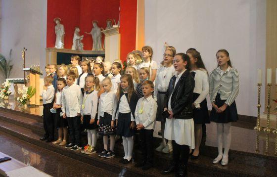 Zielona Góra. Dzień Patrona w szkole katolickiej