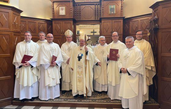 Święcenia kapłańskie w Ogólnopolskim Seminarium dla dla Starszych Kandydatów do Święceń