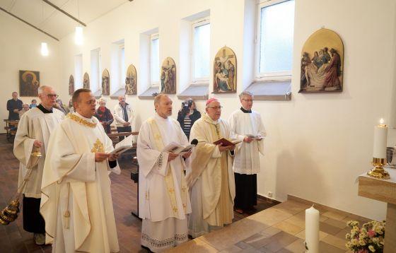 Msza z udziałem bp. Wolfganga Ipolta