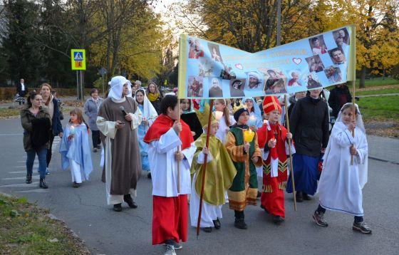 Korowód Świętych w Mistrzejowicach