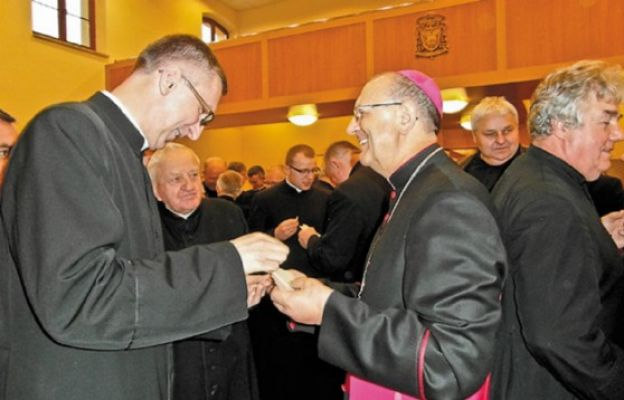 Kapłański opłatek w Drohiczynie