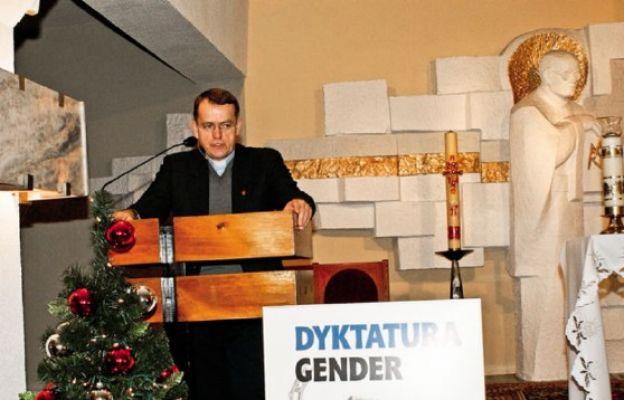 Wykład o gender w Jaworznie