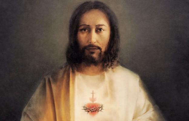 Obraz Najświętszego Serca Pana Jezusa znajdujący się w sanktuarium Księży Chrystusowców w Szczecinie