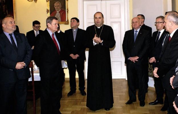 Samorządowcy u Biskupa