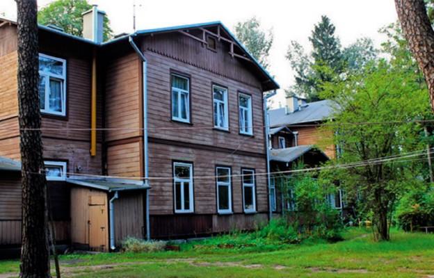 Budynek dawnego sanatorium