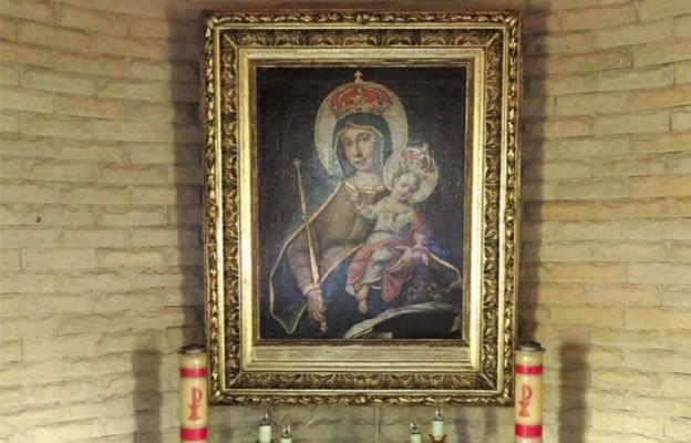 Matka Boża z maleckiej kaplicy