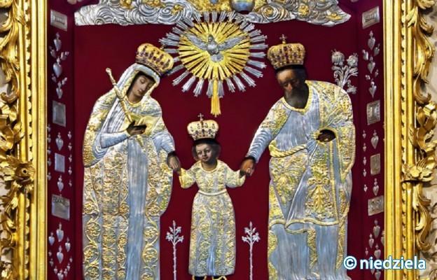 Cudowny obraz Świętej Rodziny z kolegiaty Wniebowzięcia Najświętszej Maryi Panny, w którym szczególną cześć odbiera św. Józef, zwany Kaliskim