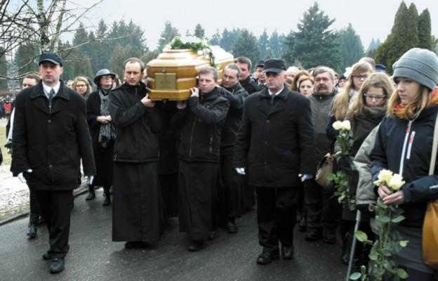 Pożegnanie ks. Józefa Sondeja