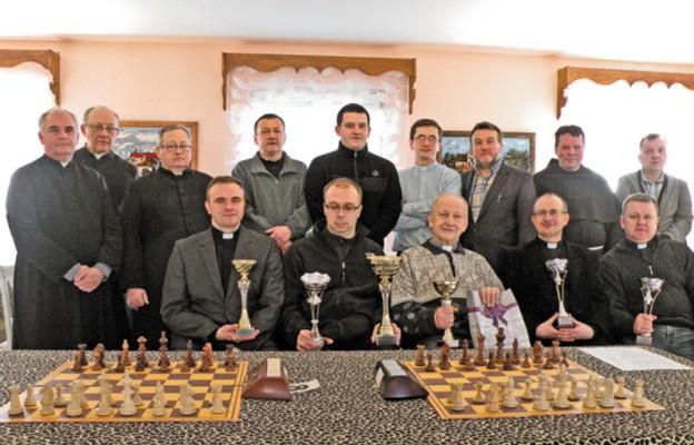 Kapłani nagrodzeni w Mistrzostwach Polski Duchowieństwa w szachach szybkich i błyskawicznych