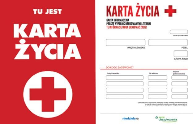 Karta, która ratuje życie