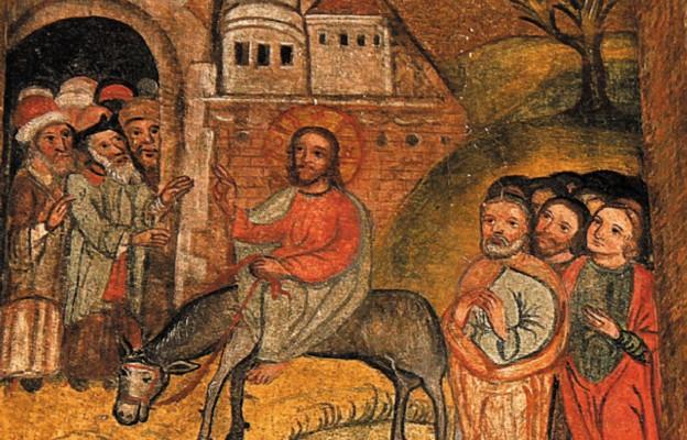 Chrystus na osiołku