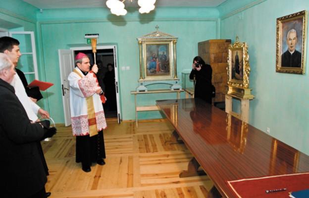Poświęcenie izby pamięci sługi Bożego ks. Stanisława Sudoła