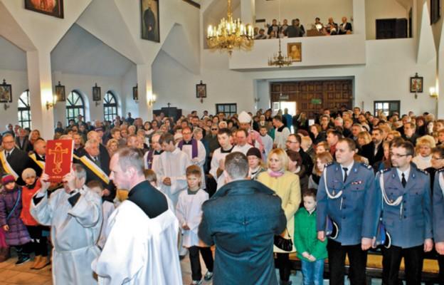 Jubileusz parafii przy Naftowej