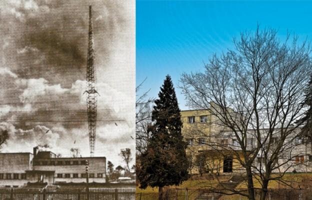 Toruńska rozgłośnia  w 1935 r. i dziś