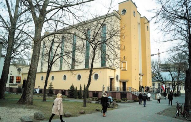 Nowe sanktuarium w Warszawie