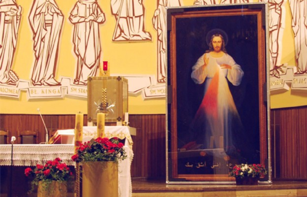 Jezus Miłosierny w drodze