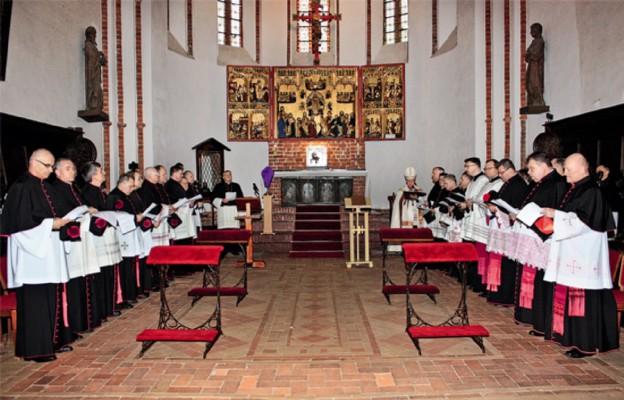 Instalacja nowych kanoników w Kamieńskiej Kapitule Kolegiackiej