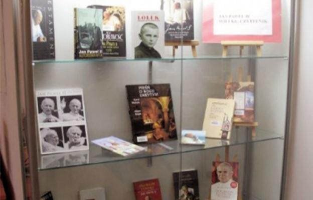 Czytający Jan Paweł II