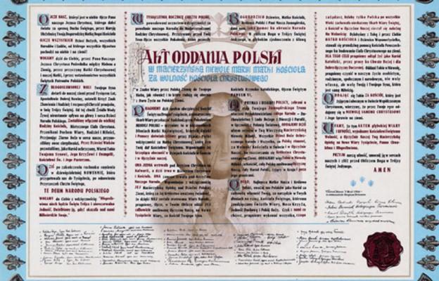 Milenijny Akt Oddania Polski Matce Bożej