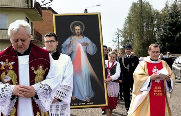 Jezus Miłosierny zawitał do Jaworzna