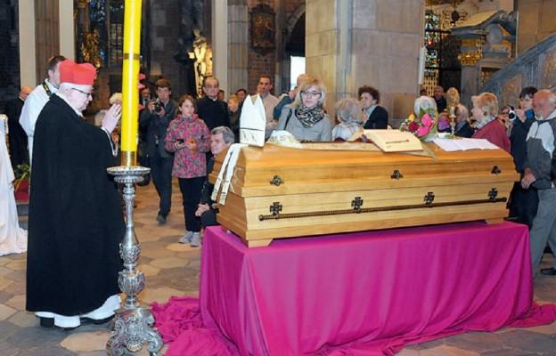 Uroczystości pogrzebowe śp. bp. Józefa Pazdura
