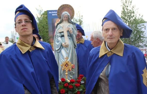 Bractwo św. Rity - procesja z relikwiami