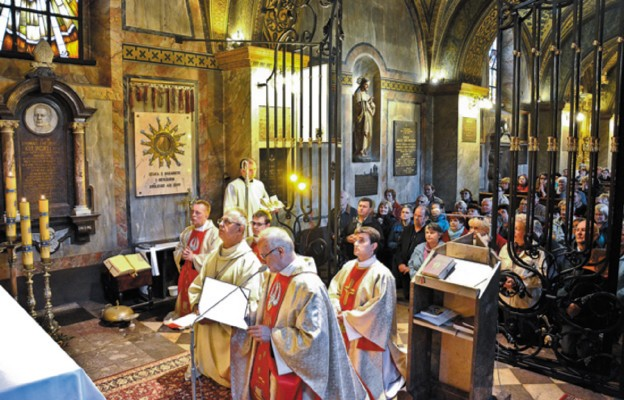 Czciciele Ojca Pio w Kielcach