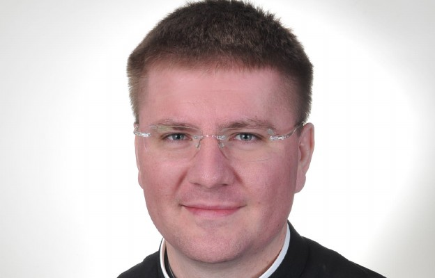 Ks. Łukasz Grzendzicki, moderator Oazy Ministranckiej oraz wikariusz w parafii pw. św. Franciszka z Asyżu w Strzelcach Krajeńskich