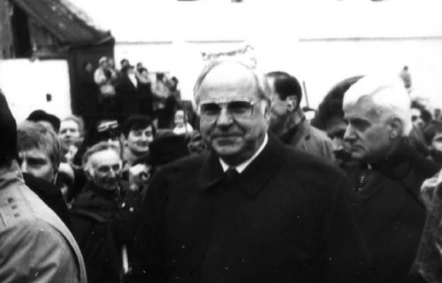 Helmut Kohl w Krzyżowej