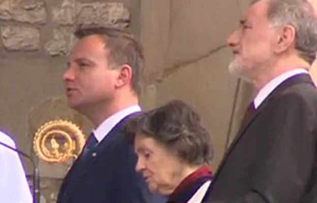 Prezydent elekt Andrzej Duda wraz z rodzicami wziął udział w uroczystościach Bożego Ciała w Krakowie