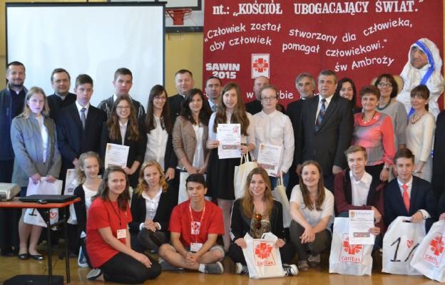 Konkurs w Sawinie cieszy się powodzeniem wśród uczniów