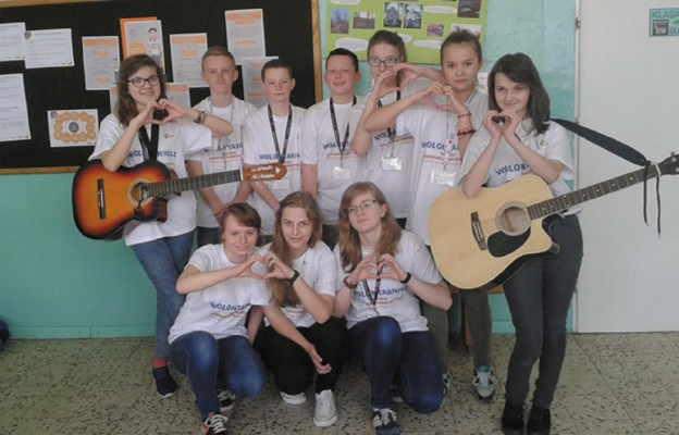 Promują ŚDM w Gimnazjum w Goraju