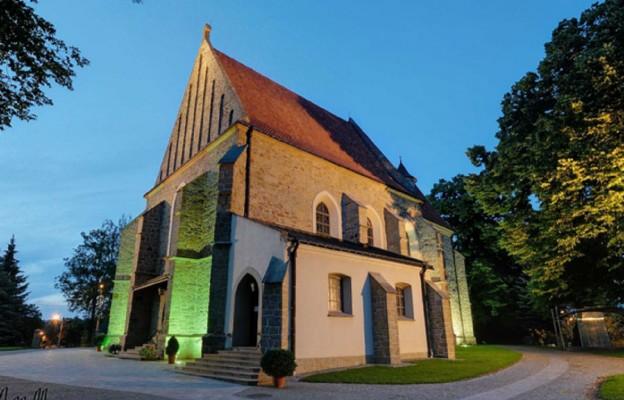 Kościół farny w Jaśle