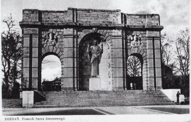 Pomnik Najświętszego Serca Pana Jezusa w Poznaniu