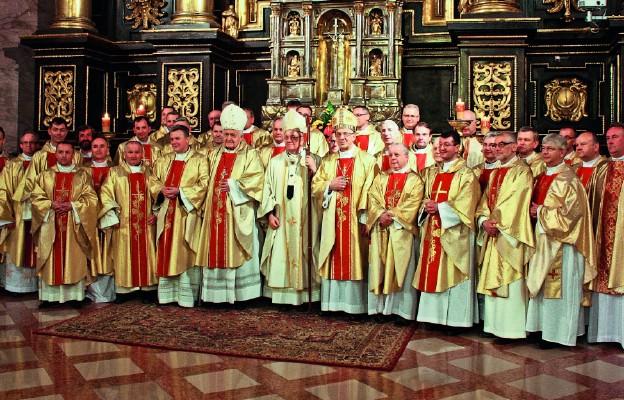 Srebrny jubileusz kapłaństwa przeżywany był przez prezbiterów w archikatedrze lubelskie