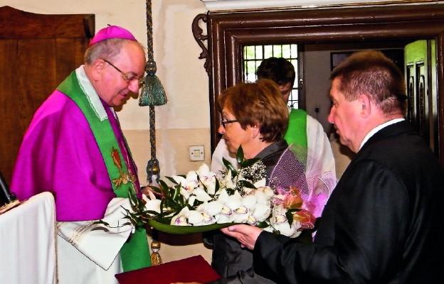 Powitanie abp. Stanisława Budzika