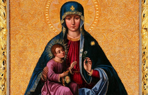 Cudowny obraz Matki Bożej w kościele Nawiedzenia Najświętszej Maryi Panny w Trokach