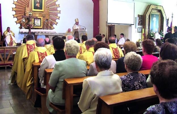 Konsekracja kościoła w Polance