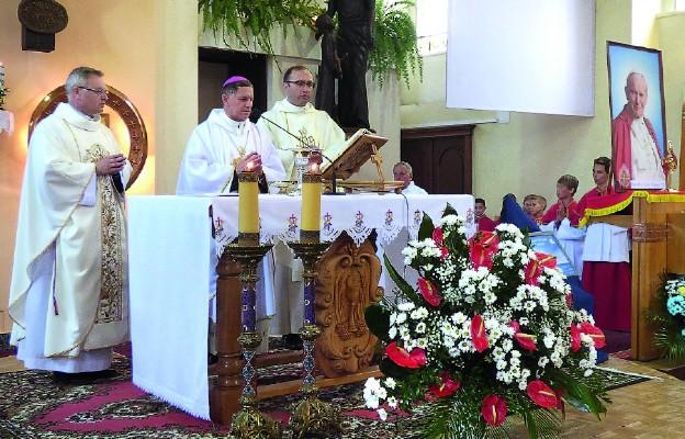 Święty w polkowickiej parafii