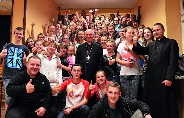 Warsztaty dla wolontariuszy ŚDM w Bielawie
